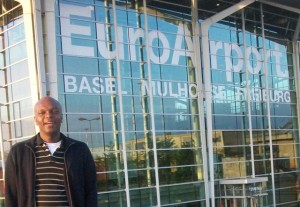 Kerwin at the EuroAirport in Basel/Mulhouse/Friedburg on the French side.