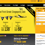 FlyScoot's Web site