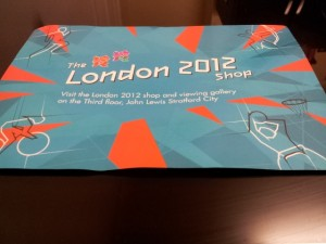 London 2012 Viewing Ticket for Olympic Park