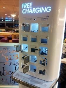 Ssingapore-Changi Free Charging