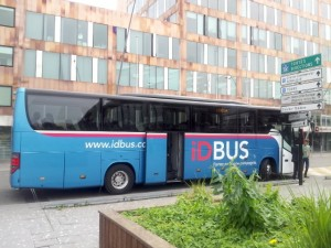 IDBUS in Lille Europe Station