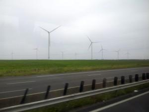 IDBUS Lille To Paris Wind Vanes