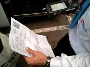 IDBUS Scan Boarding Pass
