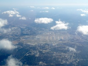Atlanta-Jackson Hartsfield International Airport Aerial View
