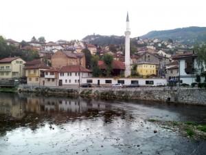 Downtown Sarajevo