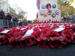 Remembrance Day 2012 in  London, England