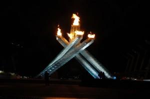 Vancouver, BC Canada Winter Olympics Cauldron