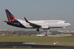 brussels airlines boeing 73G