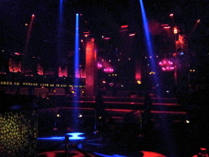Inside TAO Night Club at the Venetian