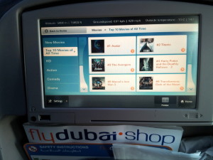 flydubai Boeing 737-800 Seatback Videos Movies