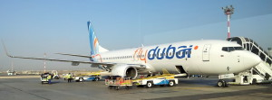 flydubai Boeing 737-800 in Muscat, Oman